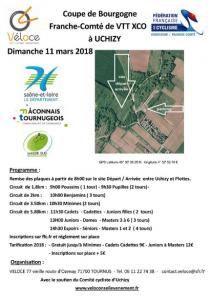 Véloce Coupe Bourg Vtt 11 mars 2018