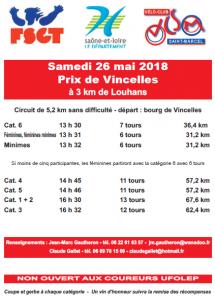 affiche Vincelles 26 mai 2018