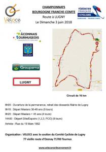 affiche route Lugny 3 juin