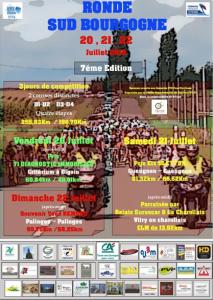 Affiche Ronde Sud Bourgogne 2018