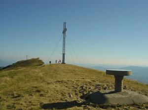 sommet et table orientation Grand Colombier