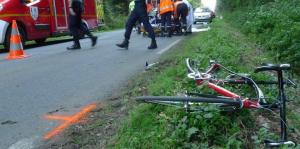 chute cycliste