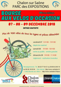 bourse aux velos 7 8 9 dec 2018